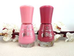 essence the gel nail polish 13 forgive me and 48 my love diary