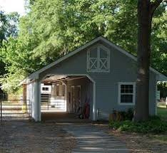 backyard horse barns well maintained adorable and the perfect size for a small farm