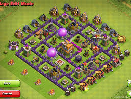 layout coc town hall level 7 of clans layouts for farming and clan wars