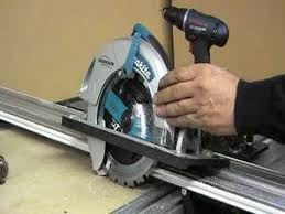 circular saw table saw adapter install dust port in front of saw youtube