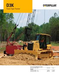 kw tractor d3k track type tractor caterpillar equipment pdf catalogue