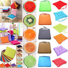 Tie On Chair Cushions Kitchen Chair Cushions Ebay