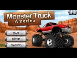 play monster truck america game