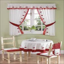 Sunflower Kitchen Curtains Fabulous Sunflower Valance Curtains Ideas With Embroidered