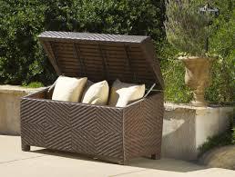 bench beautiful garden storage plastic 86 regarding small home