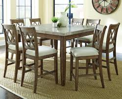 dining tables 7 piece round counter height dining set counter