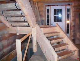 log stairs questions and answers log homes on the internet