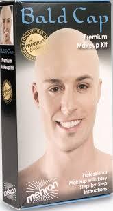professional bald cap mehron bald cap make up kit professional bald kit
