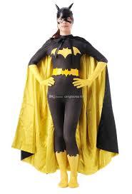 bat woman halloween costume unisex lycra spandex barbara gordon batgirl zentai costume with