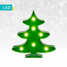 led decorative light christmas tree