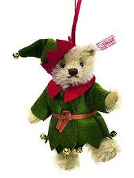 steiff teddy ornament 036729