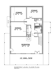 floor basement monument houses ranch style house plans open plan