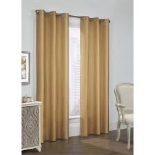 Solid Color Curtains Prescott Insulated Grommet Top Curtains Thermal Curtains Solid