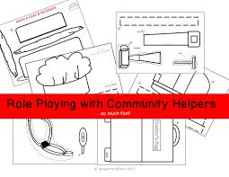 community helpers or workers social studies teacher and teacher