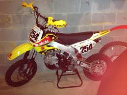 tg motocross 4 pro my uncles suzuki 163cc bbr made pit bike pit bikes pinterest