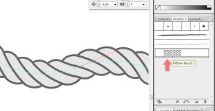pattern drawing illustrator how to drawing rope in adobe illustrator tutorial by vector guru