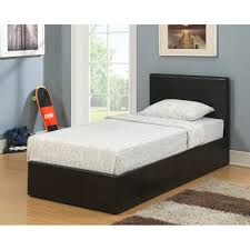 Ottoman Faux Leather Bed Buy Birlea Berlin Black Ottoman Bed Frame Big Warehouse Sale