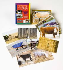 lang o learn on the farm cards stages learning materials