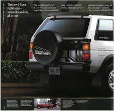 nissan pathfinder all wheel drive 1990 nissan pathfinder dealer brochure nicoclub