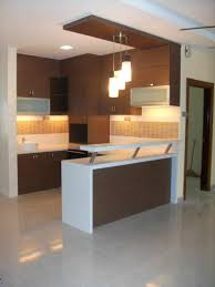 with mini bar modern small kitchen design with black mini bar for