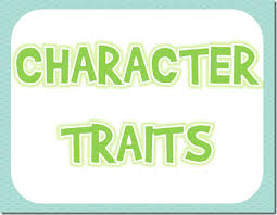 character traits free posters and graphic organizers a year