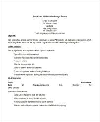 credit manager resume administration resume samples 29 free word pdf documents