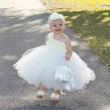 baby dresses for wedding ivory flower dress baby flowers dress tutu dress