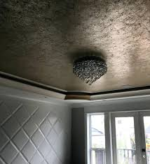 wall ideas metallic painted wallpaper tedious but oh so stunning