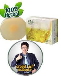 Sabun Wish sulfur soap transparant produk wish skin clinic dokter boyke co