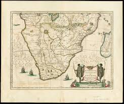 Southern Africa Map File Southern Africa 1640 Jan Jansson 4265384 Recto Jpg