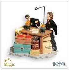 harry potter harry hermione resin ornament by hallmark