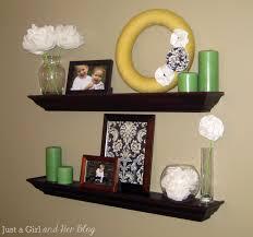 spectacular living room floating shelves shelf ideas wall shelves