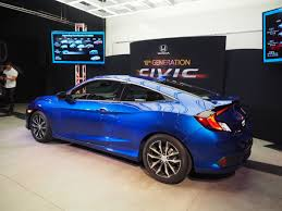 honda civic 2016 coupe 2016 honda civic coupe all aboard the turbo train