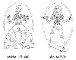coloring book lets create feminist icon ms