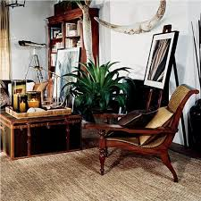 Wooden Armchairs Extraordinary Colonial Living Room Furniture Using Antique Wooden