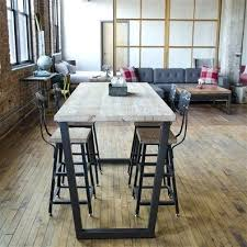 bar height work table bar height table with stools bar height meeting table furniture with