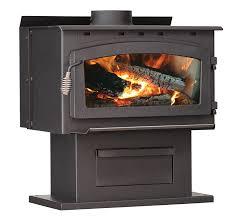 Pedestal Wood Burning Stoves Amazon Com U S Stove Company 2016eb Medium Wood Stove Home