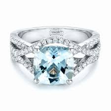 aquamarine wedding rings 43 inspirational aquamarine wedding ring wedding idea