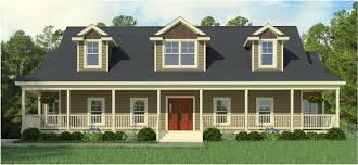 who makes the best modular homes cod modular home greenbier floorplan for a classic wrapped porch