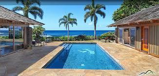 Kauai Cottages On The Beach by New Poipu Beach Rental Kauai Oceanfront Splendor At Hale Luana
