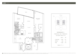 floor plans jade sunny isles residences