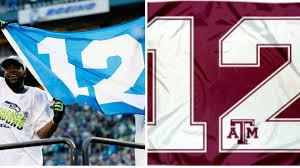 Aggie Flag Seahawks Texas A U0026m Still Battling Over U002712th Man U0027 Other Sports