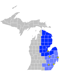 Map Of Eastern United States by File Map Of Us District Court For The Eastern District Of Michigan
