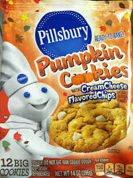 the holidaze pillsbury pumpkin cookies