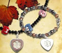 bead jewelry bracelet images Medical id alert bracelets medical alert jewelry bracelet necklace jpg