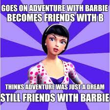 Funny Barbie Memes - fancy funny barbie memes barbie movies images raquelle meme