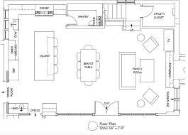 kitchen family room floor plans the gray kitchen design ideasthe room is 35 8 by 23
