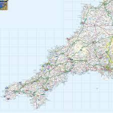 Offline Map Devon Offline Map Including Dartmoor Exmoor Plymouth