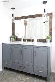 mirrors ideas for framing a large bathroom mirror industrial