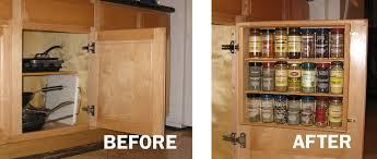 cabinet door mounted spice rack kitchen cabinet door mounted storage beautiful kitchen hacks 31